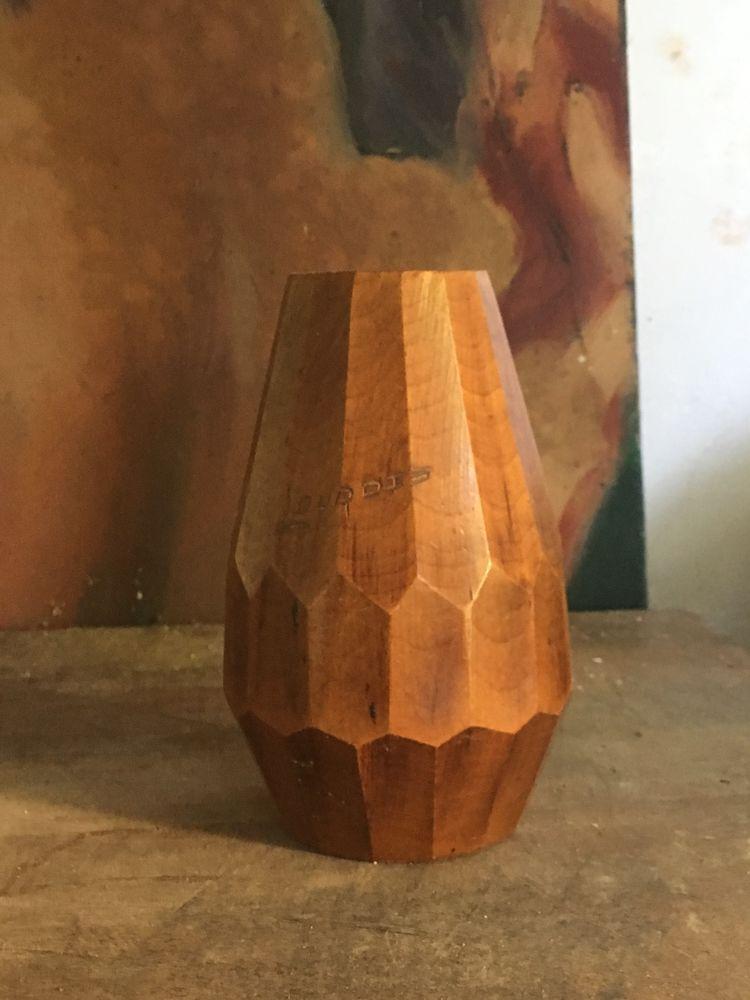 petit vase en bois 1940 5 Lisieux (14)