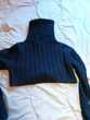 G/A Petit veste/ Gilet court , col rouler fourrure  Vêtements enfants