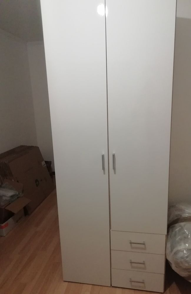 Petite armoire blanche 80 Brest (29)