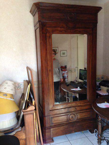 petite armoire glace ancienne meubles - Petite Armoire Ancienne