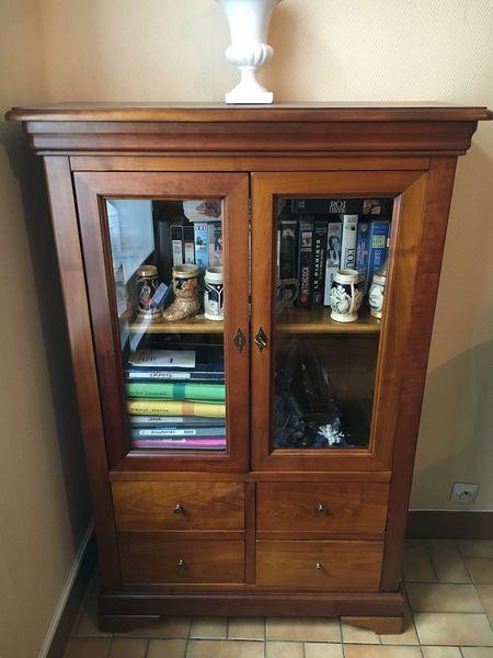 Achetez petite biblioth que occasion annonce vente chantilly 60 wb152278124 - Bibliotheque avec portes ...