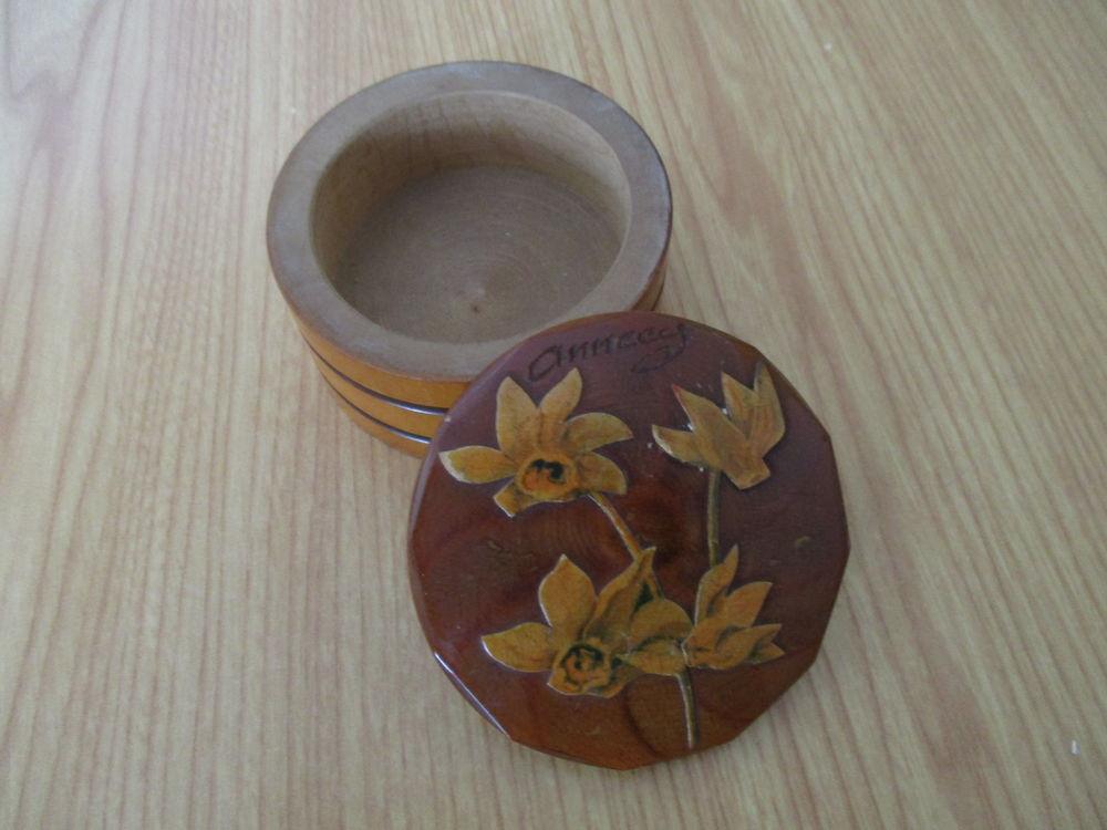 Petite boite ancienne en bois 5 Saint-Ouen (41)