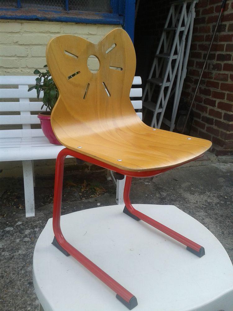 Petite chaise d'école/écolier 10 Noailles (60)