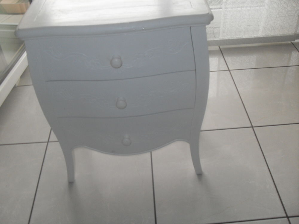 petite commode blanche 80 Saint-Germain-au-Mont-d'Or (69)