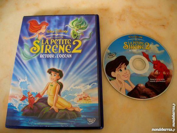 DVD LA PETITE SIRENE 2 Retour à l'Océan N°56 12 Nantes (44)