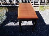 Petite table ancienne en bois  60 Ravine des cabris (97)