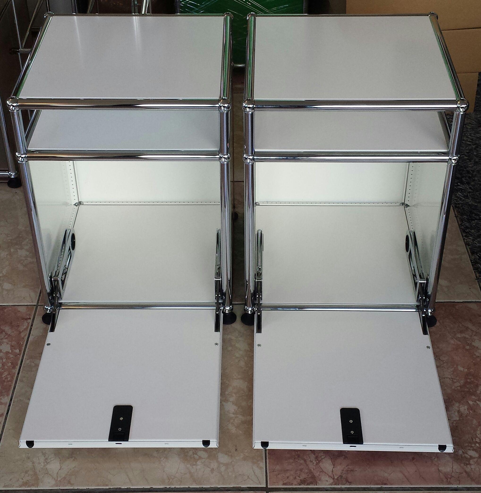 Petite table de chevet usm haller couleur blanche 530 Provins (77)