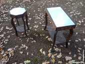 Petite table mauresque en cèdre/miroir/déco salon 45 Castres (81)