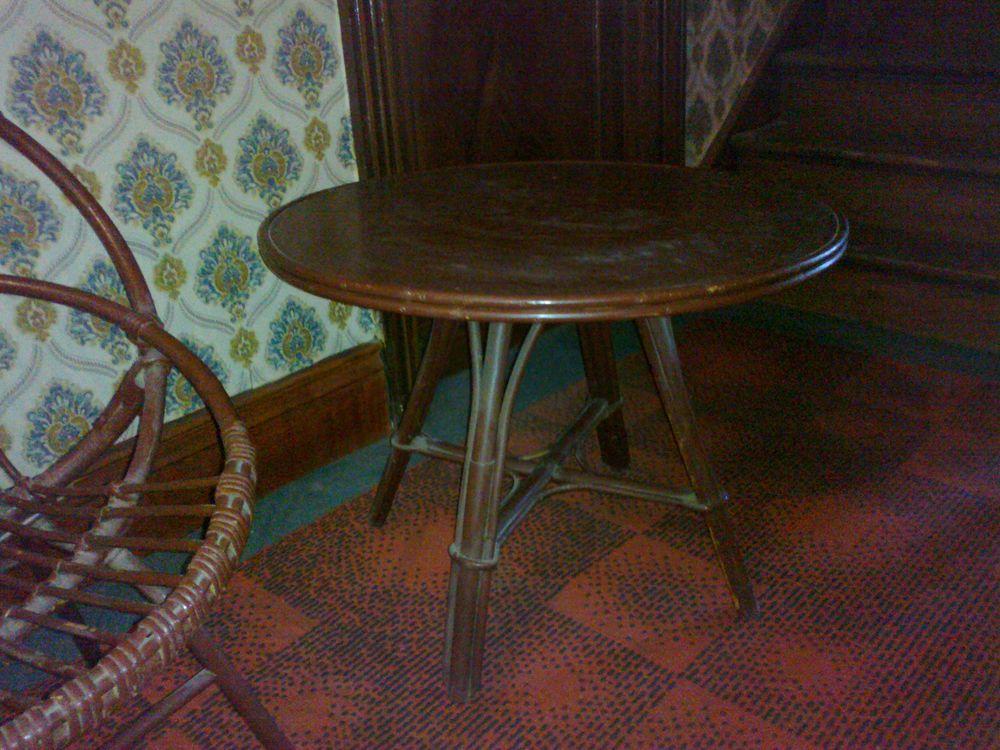 Petite table rotin 40 Lecelles (59)