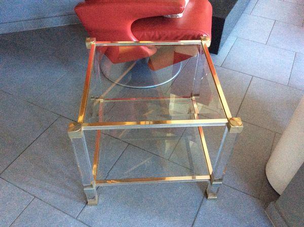 Petite table de salon doré ,sur 2etages   0 Dunkerque (59)