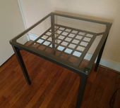 Petite table en verre trempé 40 Lyon 2 (69)