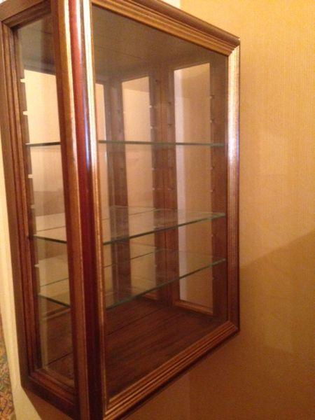 Achetez petite vitrine bois occasion, annonce vente à Lyon (69) WB149961611 -> Vitrines En Bois Et Télévision