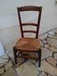 2 petites chaises anciennes de cheminée