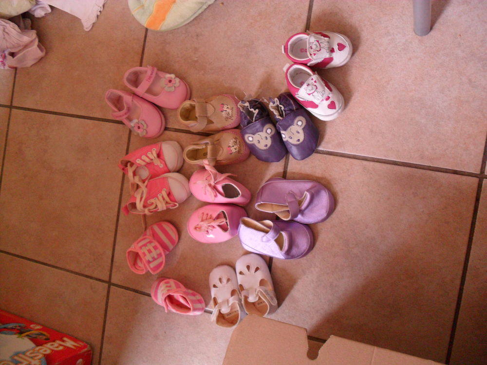 Petites chaussures BB fille 1 Bauvin (59)