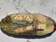 2 petites peintures sur bois.environs de Troyes.annees 30/40