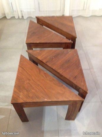 4 PETITES TABLES BASSE EN BOIS  15 Dammartin-en-Goële (77)