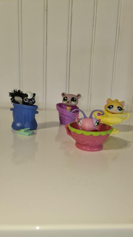 4 petits animaux PetShop 15 Sorgues (84)