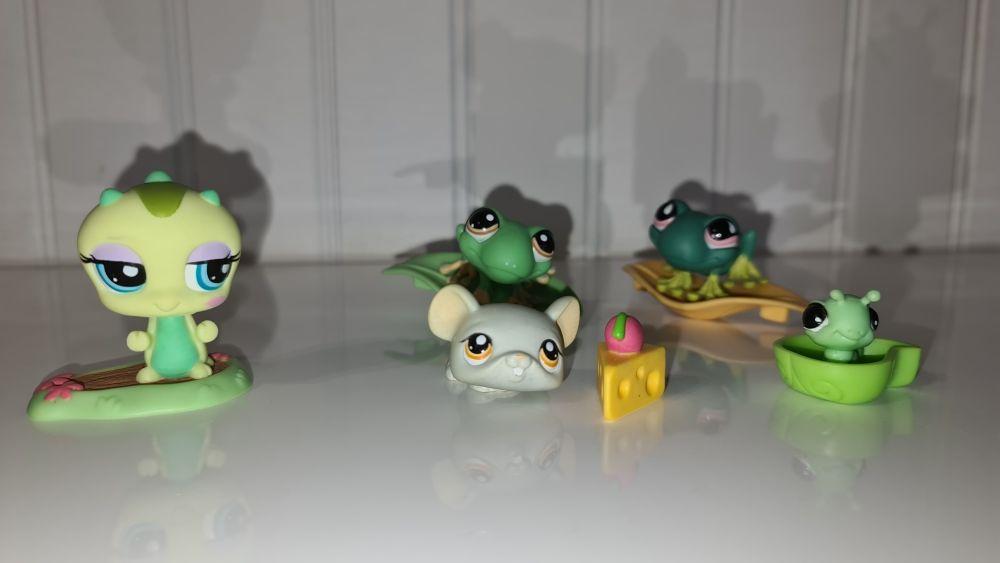 5 petits animaux PetShop avec accessoires 15 Sorgues (84)