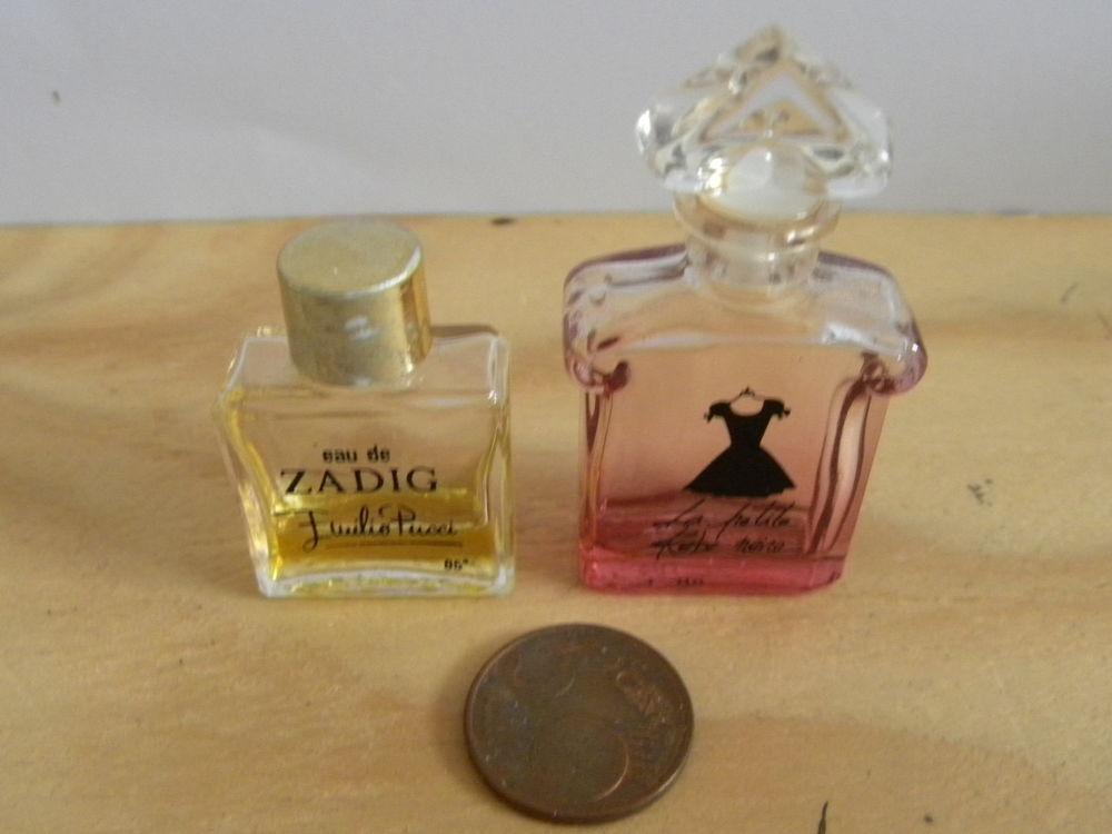 Lot de 2 petits flacons de parfum Guerlain et Emilio Pucci  5 Saint-Priest-la-Plaine (23)