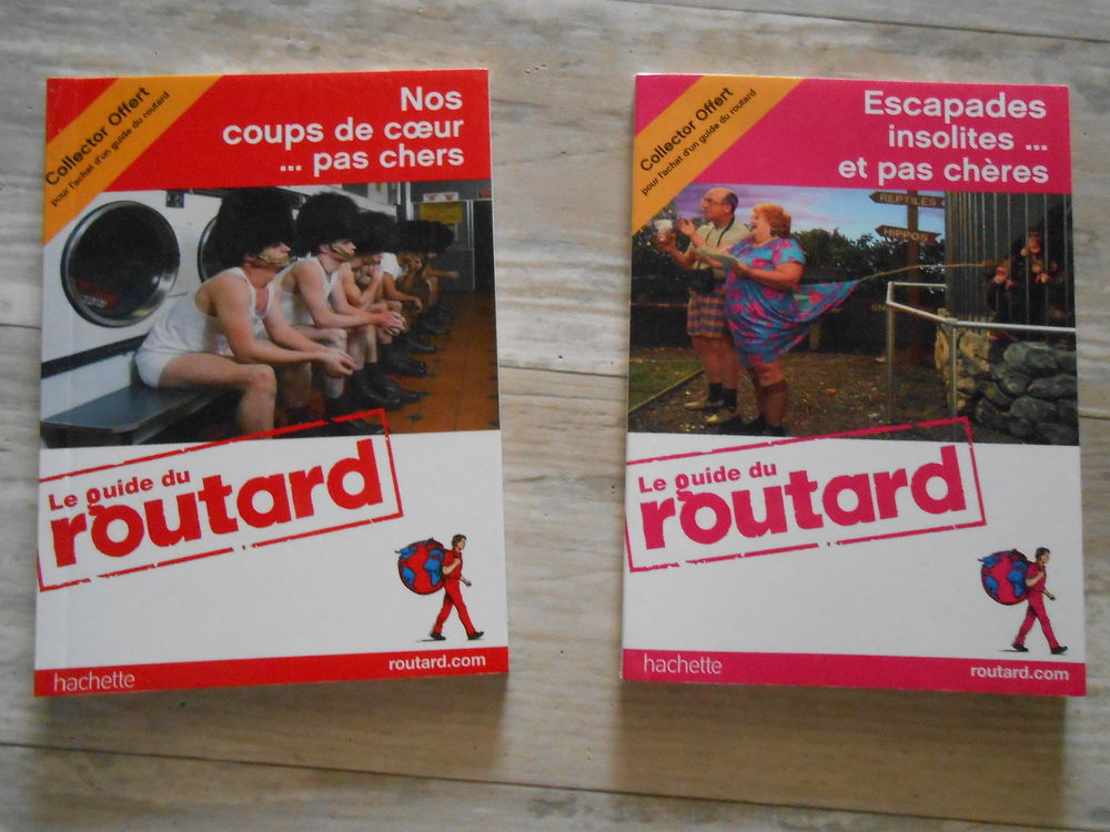 Lot de 2 petits guides routard collector TBE 3 Aurillac (15)