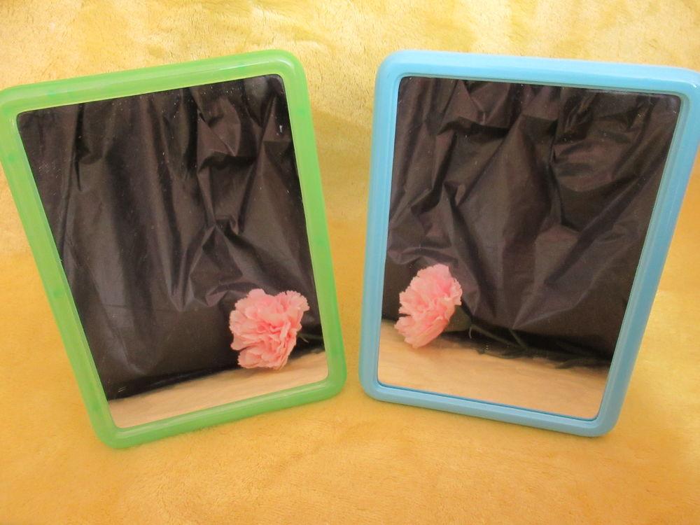 Lot de 2 petits Miroirs de SBD - Bleu et vert 5 Livry-Gargan (93)