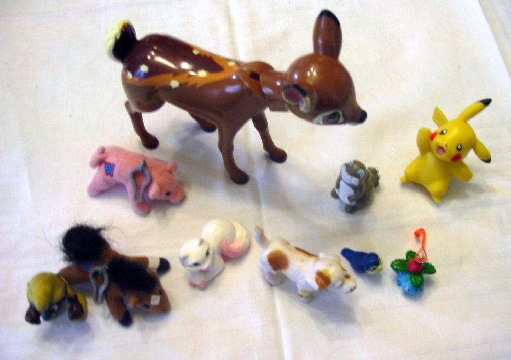 10 Petits personnages pour enfants. Réf J15 3 Pantin (93)