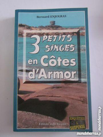 3 PETITS SINGES EN COTES D' ARMOR policier BARGAIN 3 Brest (29)