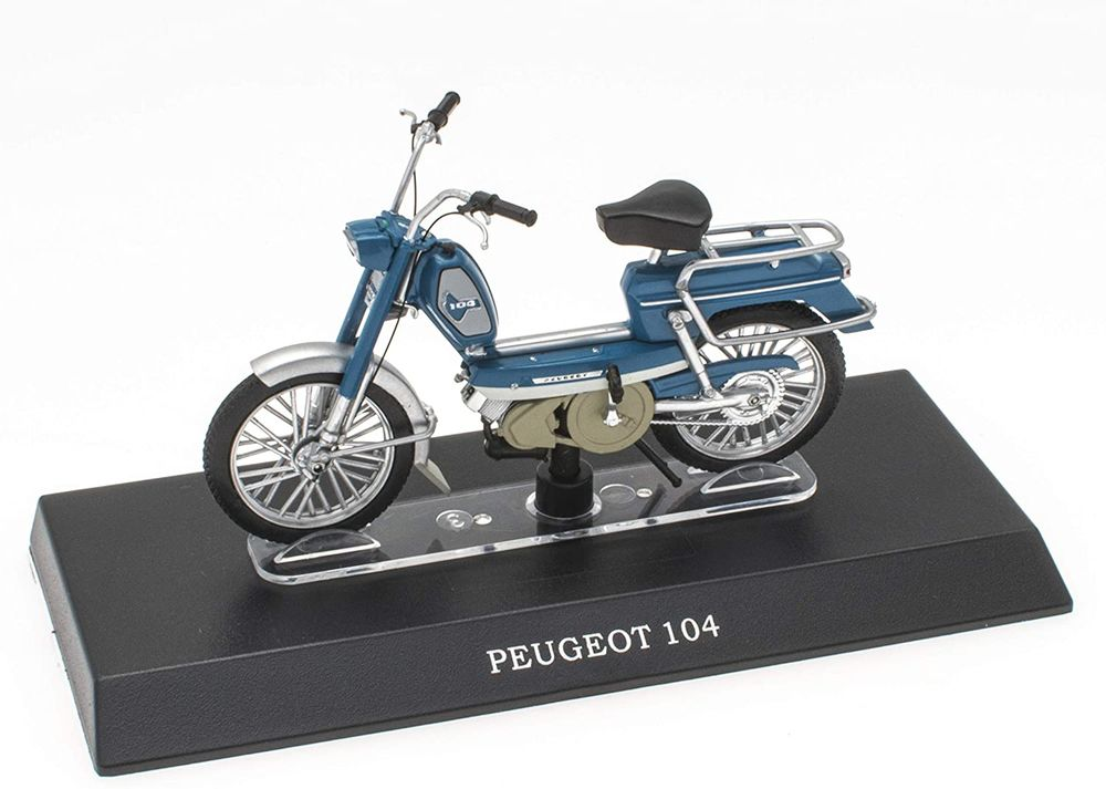 Peugeot 104 Mobylette Collection 1/18 Peugeot 104 Mobylette  20 Coudekerque-Branche (59)
