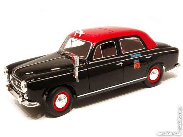 Peugeot 403 Taxi miniature 1/18 Solido Neuf Boite Jeux / jouets