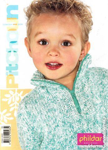 PHILDAR Pitchoun N°444 été enfant poupée tricot 4 Saint-Florentin (89)