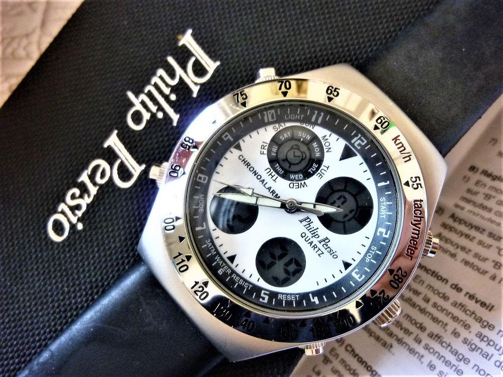 PHILIP PERSIO montre multifonctions édition limitée 2010 85 Metz (57)