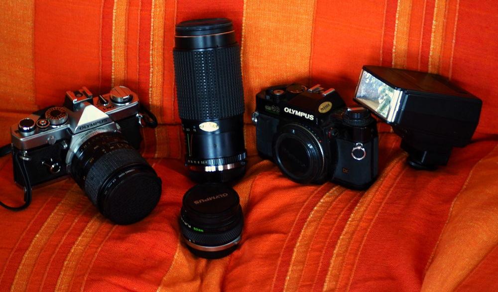lot photo deux appareils et objectifs en argentique 300 Grayan-et-l'Hôpital (33)