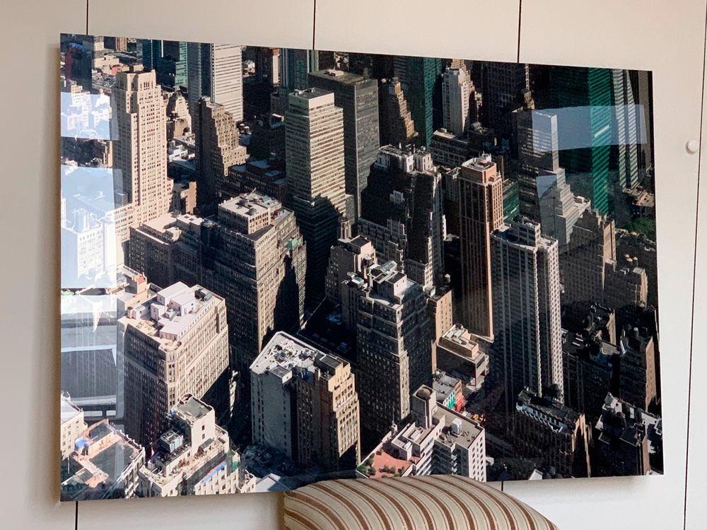 Photo New York contre collée sous plexiglas 160 Paris (75)