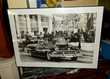 photographie inauguration j f Kennedy 1961 + cadre Monflanquin (47)