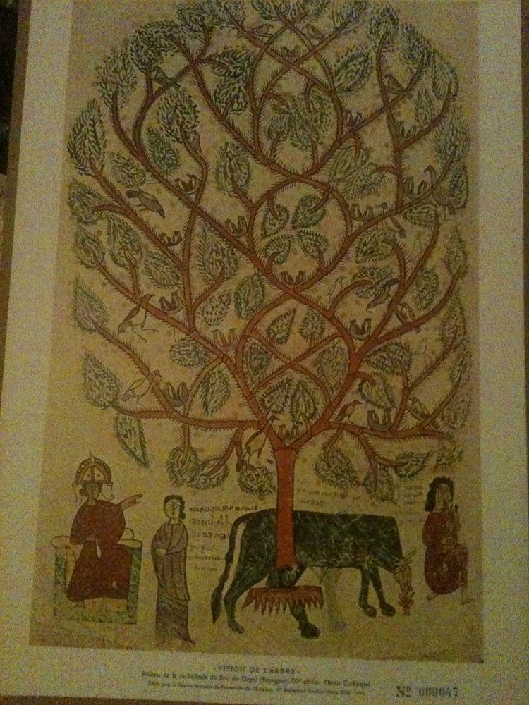 Photographie lithographie gravure Vision de l'arbre, Beatus  50 Bosc-le-Hard (76)
