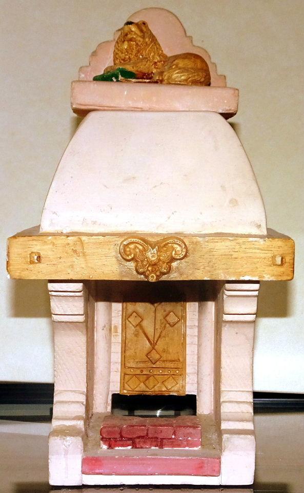 Photophore forme cheminée ancienne rustique 5 Trouillas (66)