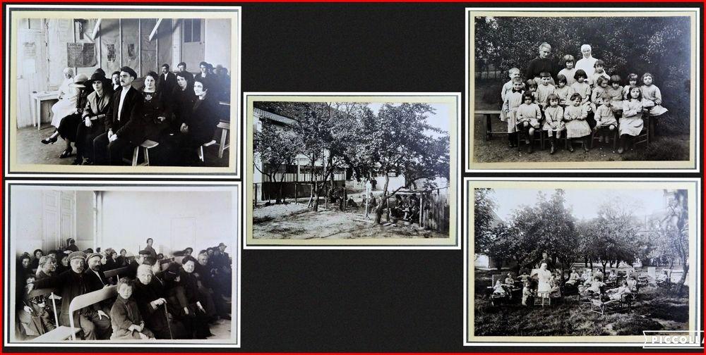 Photos de l'hôpital de la Croix Saint-Simon 1907/1946 12 Chaumontel (95)