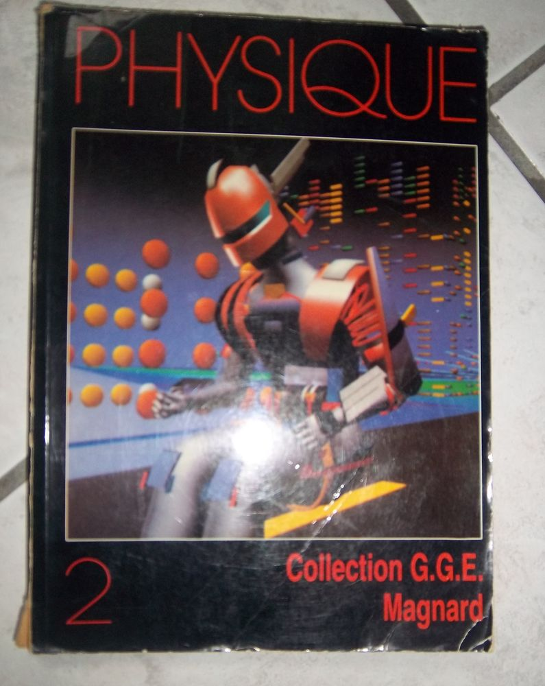physique collection G.G.E Magnard 7 Colombier-Fontaine (25)