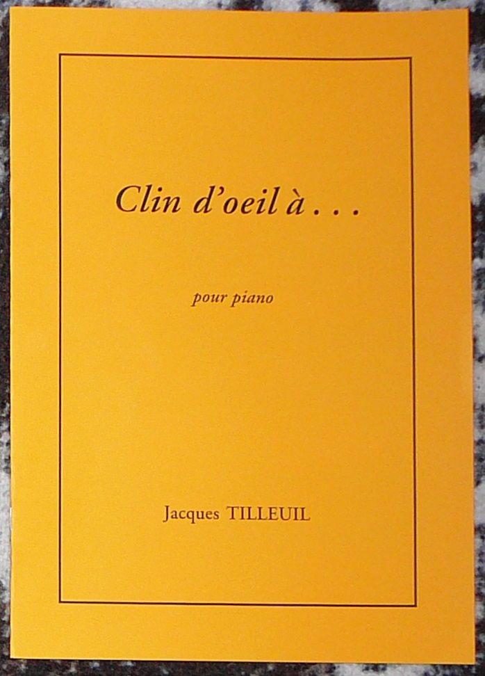 [piano] Clin d'oeil à..., par Jacques Tilleuil 3 Lens (62)