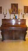 Piano droit en bois de décoration 73 Courcouronnes (91)