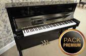 Piano droit KAWAI CX-5 noir laqué PACK PREMIUM 2390 Levallois-Perret (92)