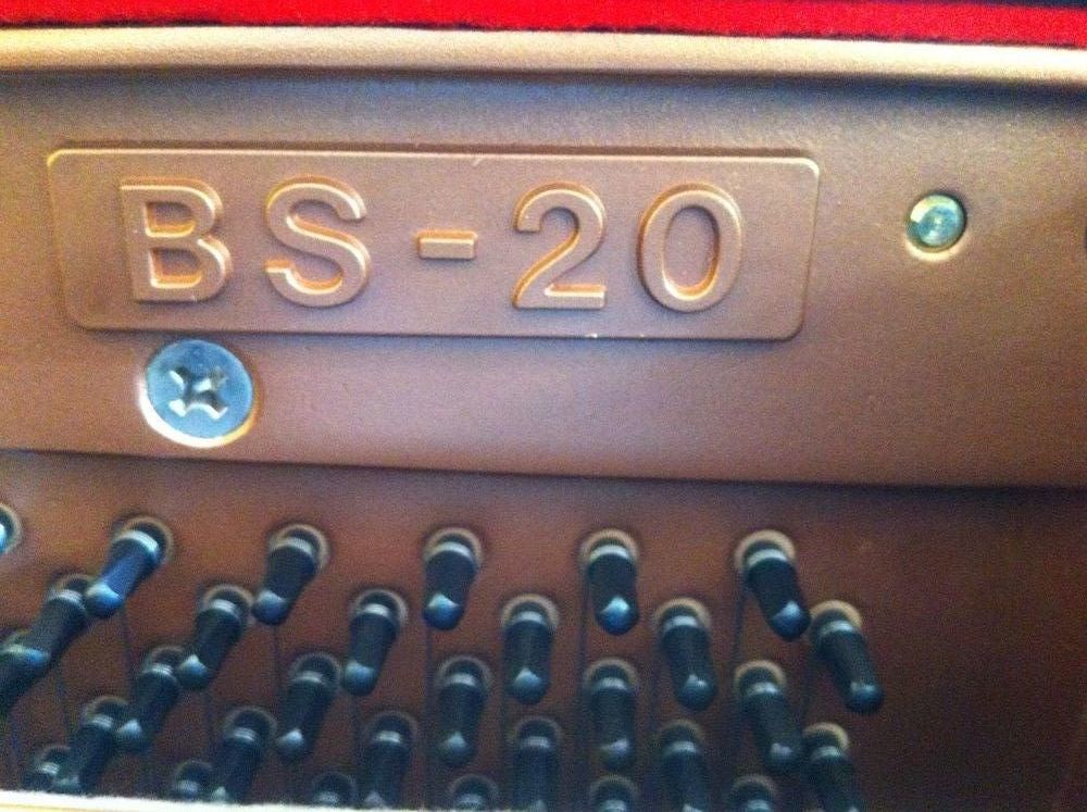 Piano droit KAWAI BS 20 noir brillant 2600 La Celle-Saint-Cloud (78)