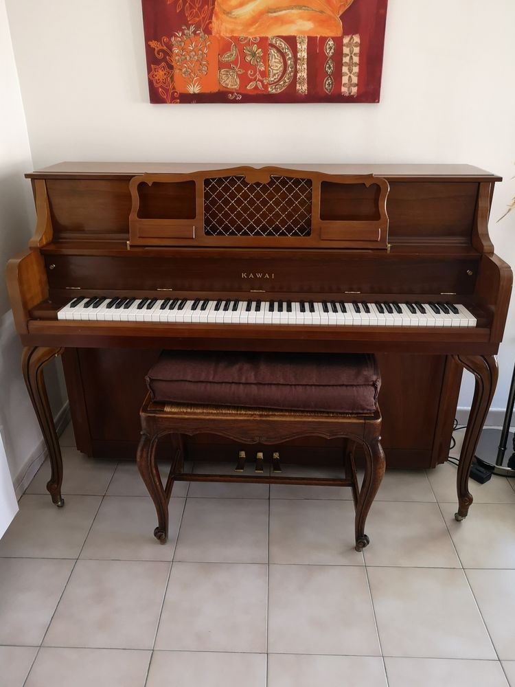 Piano droit Kawai en merisier 650 Cannes (06)