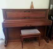 Piano droit E. KRAUSS by Carl Sauter (Spaichingen) 1800 Villejuif (94)