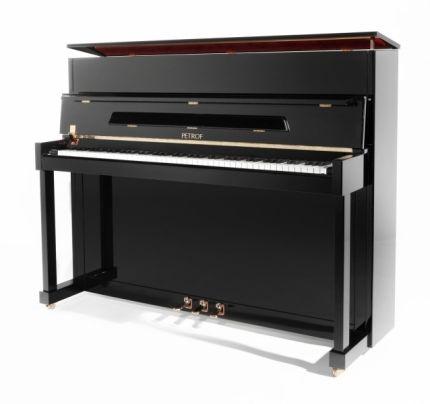 Piano droit Petrof noir verni 118cm 4400 Rueil-Malmaison (92)