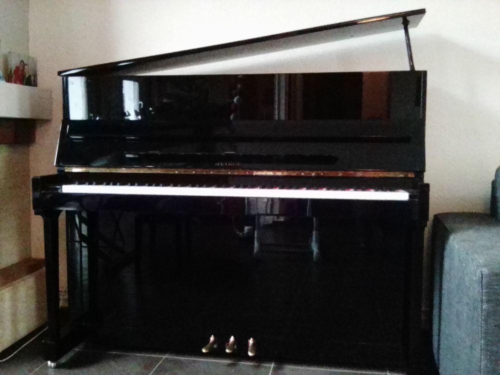 Piano droit Petrof 118 noir verni 5000 Noisiel (77)