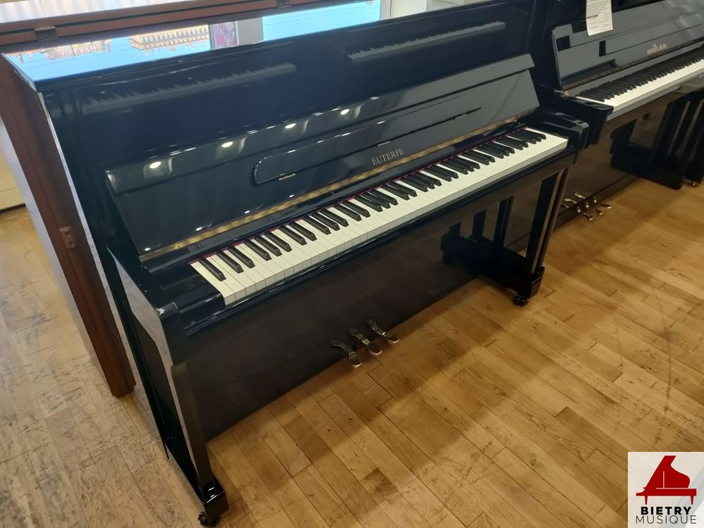 Piano droit Seiler 118 forme moderne noir laqué 6000 Lyon 5 (69)