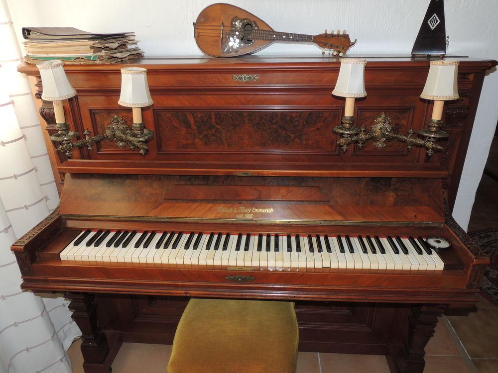 Piano droit TETSCH & MAY - Mécanisme refait à neuf 1200 Nice (06)