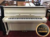 Piano droit YAMAHA E110N blanc ivoire laqué en PACK PREMIUM 3490 Levallois-Perret (92)