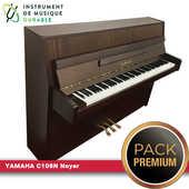 Piano droit YAMAHA - C108N Noyer |PACK PREMIUM INCLUT| 2490 Levallois-Perret (92)